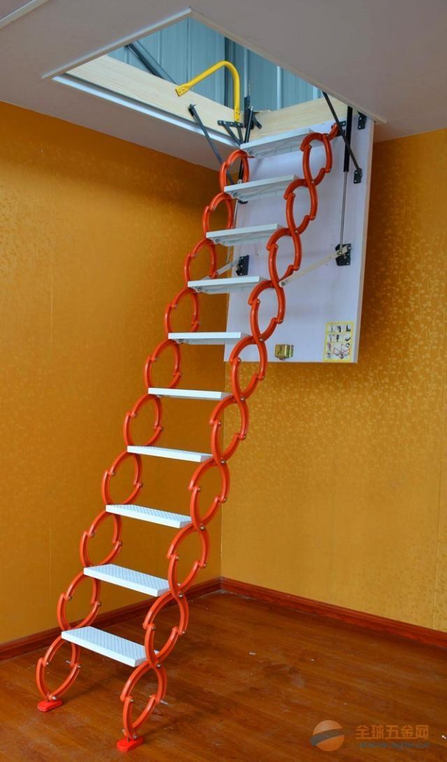 最新阁楼楼梯装修风格阁楼伸缩楼梯设计最佳阁楼楼梯位置