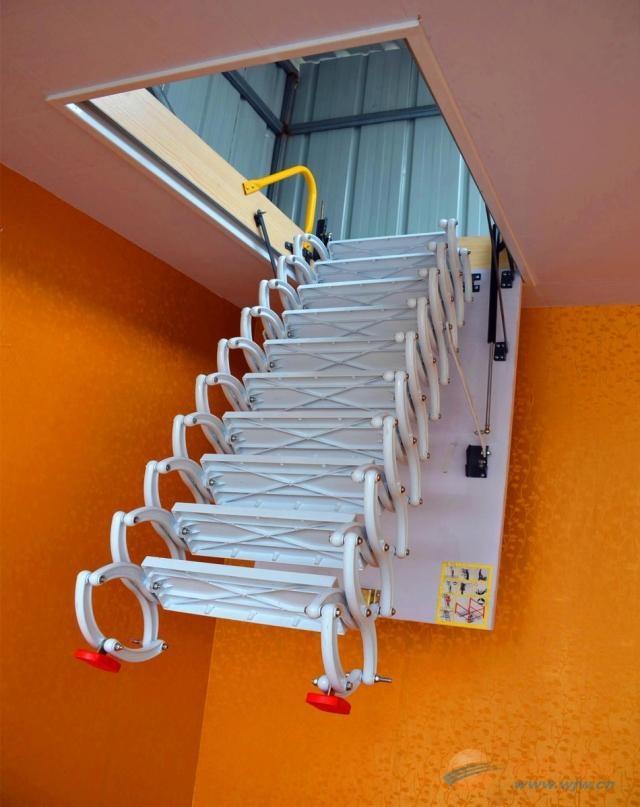 最专业阁楼楼梯厂家大全 北京阁楼楼梯价格 伸缩楼梯价格