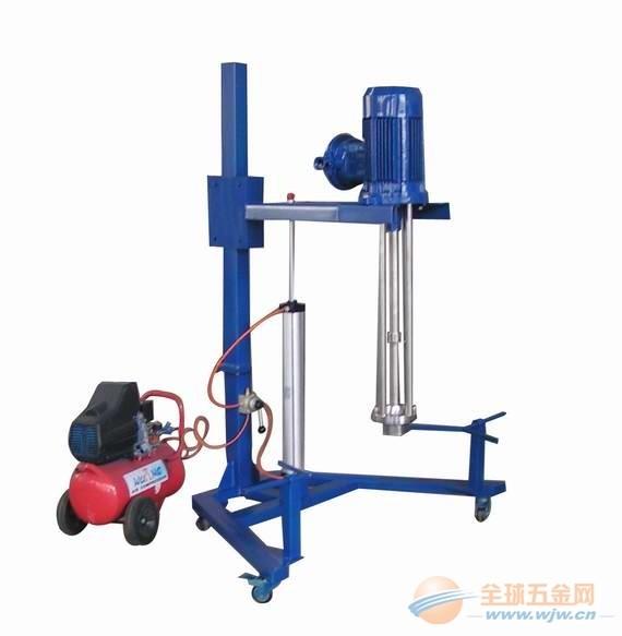 气动升降移动式乳化机|气动升降移动式乳化机和气动升降筒式乳化机的区别在哪里