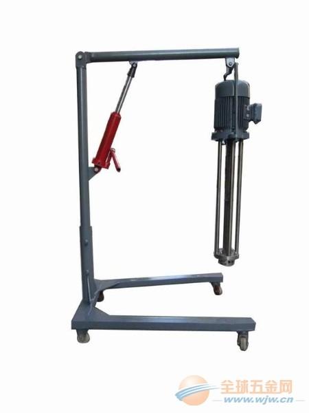 供应移动手动升降式乳化机|移动手动升降式乳化机专业供应商-启东市长江化工机械