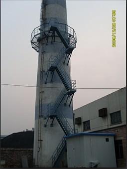 烟囱安装转梯