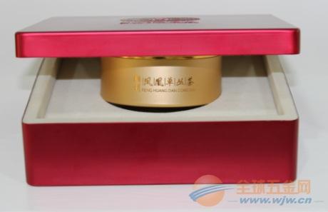 龙潭茶叶罐 铝制 专业生产 椭圆50克装茶罐