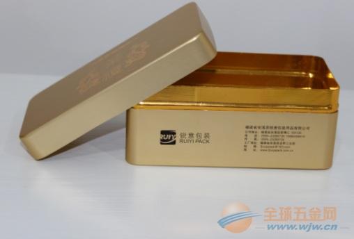 熊猫40支装烟罐 歌凤铝制金属盒 海参胆汁金属罐