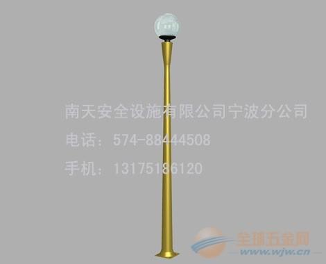 温州铝合金灯杆专业生产销售厂家