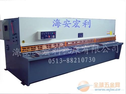 QC12Y-4×4000液压摆式剪板机 4米剪板机厂家