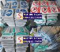 矿山反光安全标语牌免费设计各种款式及制作直接生产厂家-申盛标牌