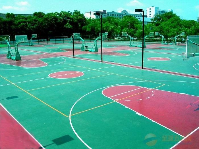 杭州塑胶场地 杭州塑胶颗粒球场 杭州塑胶颗粒篮球场 杭州塑胶跑道施工