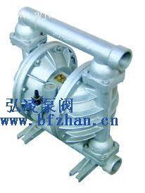 隔膜泵:QBY铝合金四氟气动隔膜泵