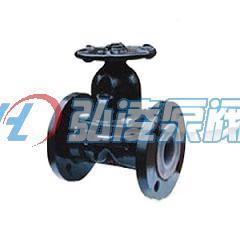 隔膜阀:EG41J-10英标衬胶手动隔膜阀