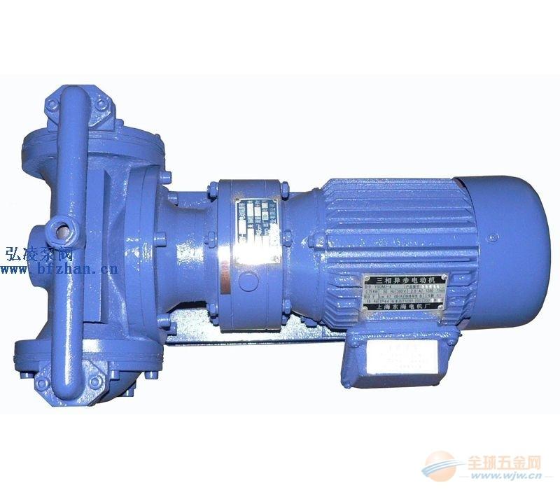 隔膜泵厂家:DBY型电动隔膜泵|不锈钢隔膜泵|不锈钢电动隔膜泵