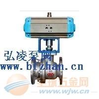 球阀型号:ZJHR型精小型气动O型切断球阀