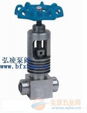 针型阀厂家:GJ61Y承插焊针型阀