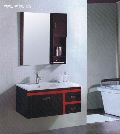 丰贝橡木浴室柜-浙江省二轻建筑装饰材料市场和发