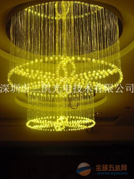 商务广场光纤灯装修