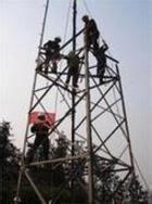 湖南50米烟囱拆除