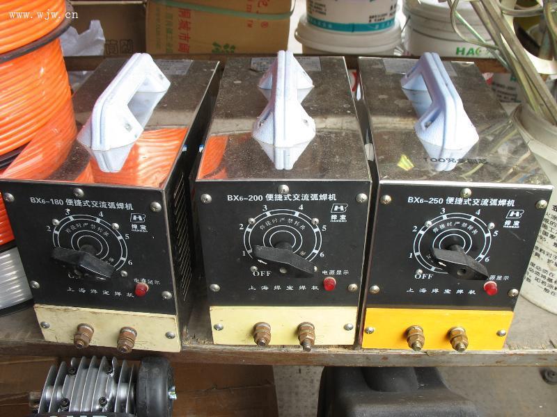便携式交流弧焊机 杭州三峰电动工具经营部图片