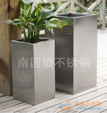 不锈钢花盆容器