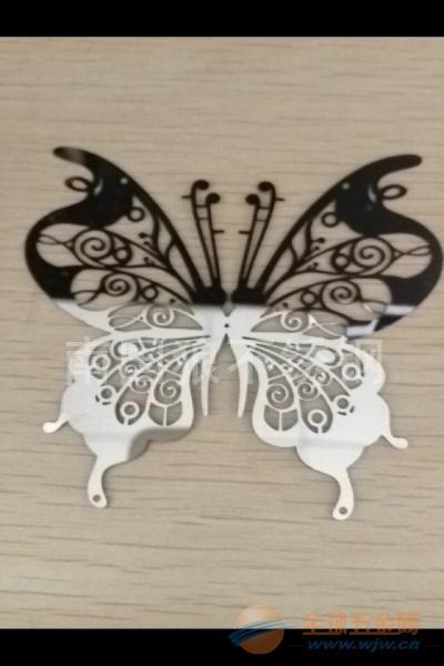 不锈钢蝴蝶镂空加工厂
