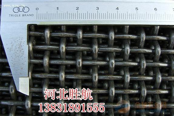 煤矿用钢丝轧花网☆矿用编织盘条轧花网,轧花网厂