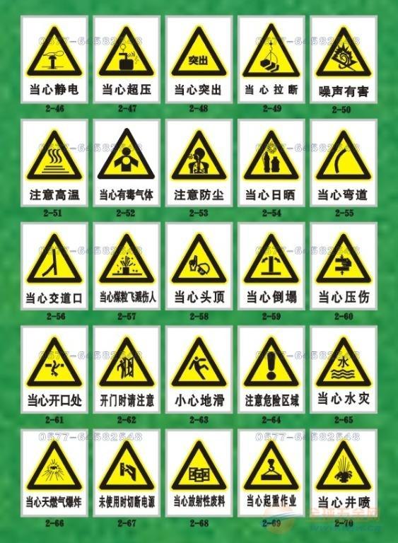 电力服务热线电话_国家标准警告安全标识图案大全,警告标识牌通用规格,警告标志牌 ...