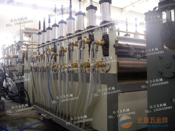 塑料超厚板材设备60mm