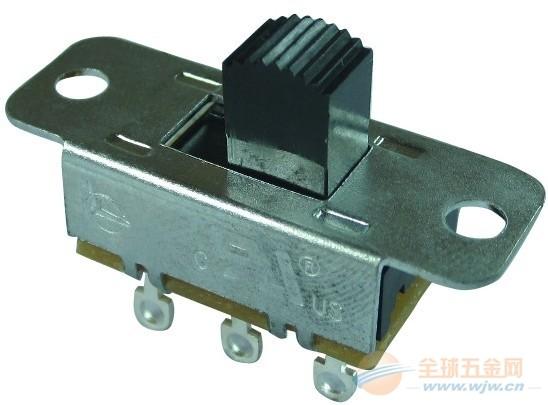 S1系列金属外壳滑动开关技术规范