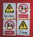 全国通用处标牌/日常通用安全标志牌/反光警示标语安全牌/自发光安全标识
