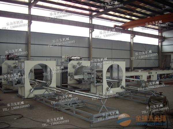 PE大口径中空壁缠绕管生产线,缠绕井设备,地暖管设备