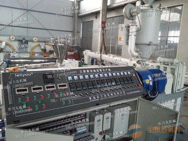 乐力友制造高速挤出硅芯管设备生产线 硅芯管设备技术领先