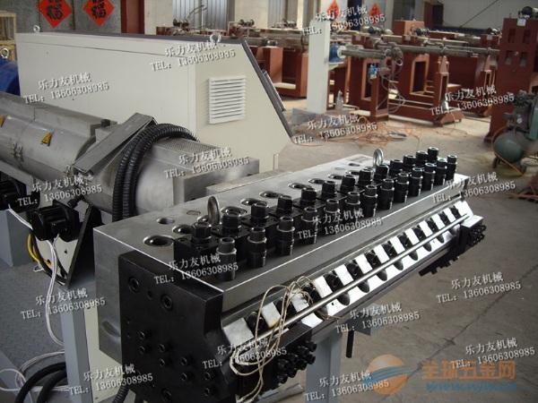 乐力友牌热收缩套挤出机组,热收缩套成型机,热收缩套生产线
