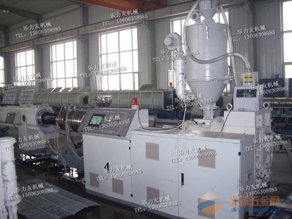 青岛乐力友ppr高速管材生产线专业生产商 ppr管材