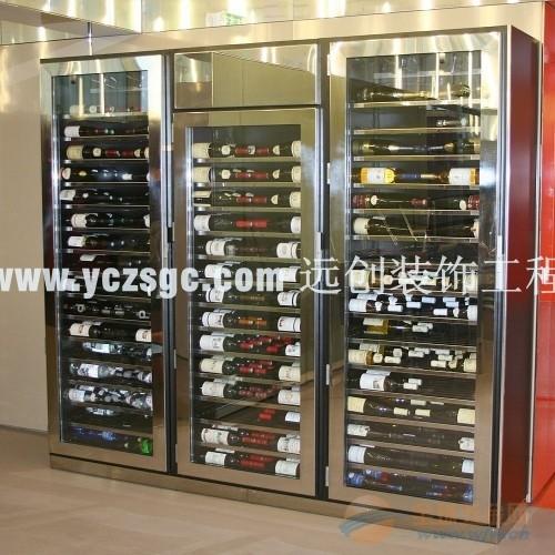 西宁酒店不锈钢酒柜,不锈钢酒柜厂家订做,不锈钢酒柜价格