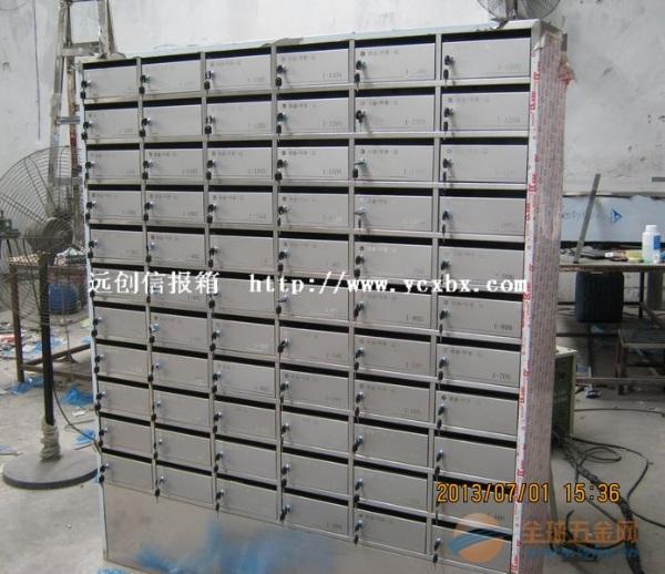 小区不锈钢信报箱安装注意细节