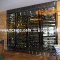 香港酒店不锈钢红酒柜定做,澳门酒店不锈钢红酒柜价格