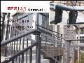 连云港/响水/灌云楼梯栏杆厂家价格批发组装式楼梯扶手锌钢材质无焊接