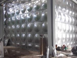 550吨不锈钢模压板组合焊接式水箱