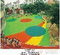 幼儿园塑胶操场铺设 幼儿园地垫 幼儿园塑胶游戏垫