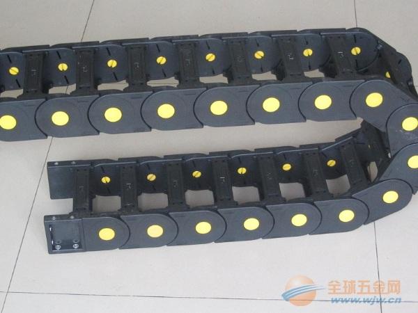 电子机械专用轻型塑料拖链,加强型塑料拖链