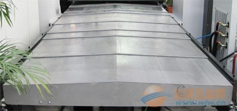 诸城加工中心防护罩 机床导轨防护罩