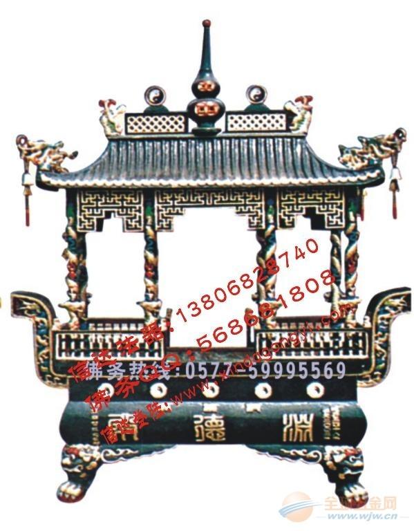 长方形香炉 寺庙香炉 圆形香炉 铁香炉铸造过程