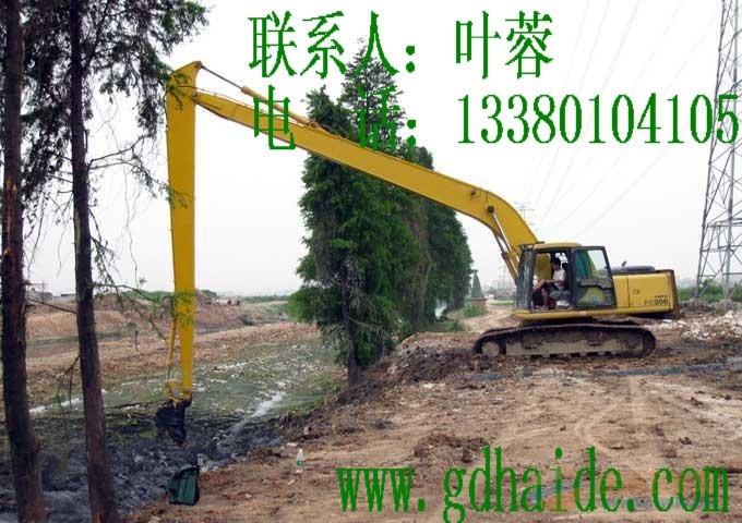 加长臂挖机,PC200-18米加长臂,加长臂专业厂家