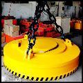 起重圆形电磁吸盘,电磁铁,吊运工件,钢板,废料,下脚料,铁屑专用的起重吸盘