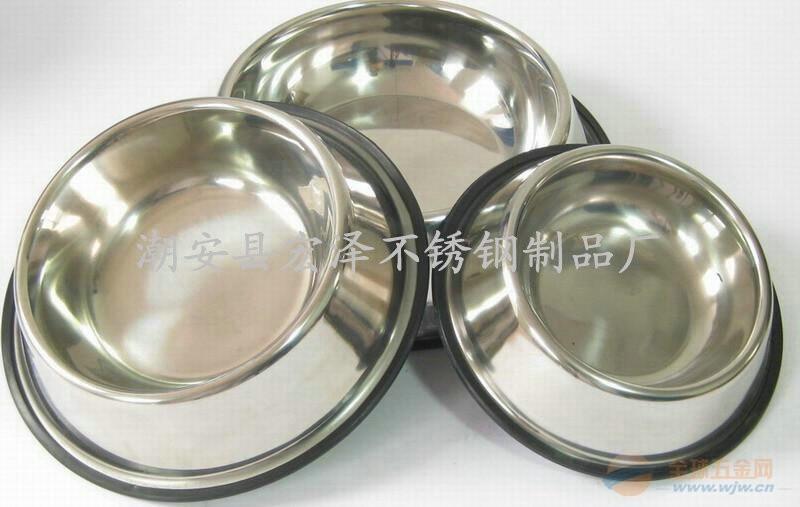 不锈钢盆|宠物碗|不锈钢快餐盘|不锈钢杯|不锈钢狗碗|不锈钢份数盆|碗|