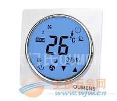 液晶触摸屏空调房间风机盘管温度控制器开关面板