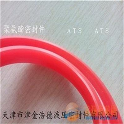 红色聚氨酯密封件-车削加工密封90硬度PU密封件