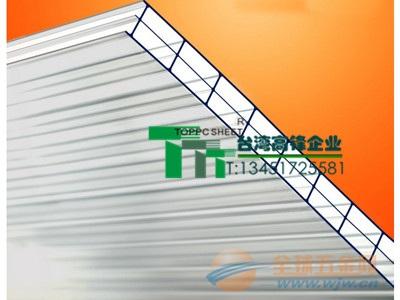 双面UV层温室专用中空PC阳光板厂家