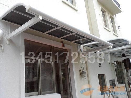 重慶淺灰色雨篷板|深灰色PC雨棚板|聚碳酸酯雨棚板生產廠家