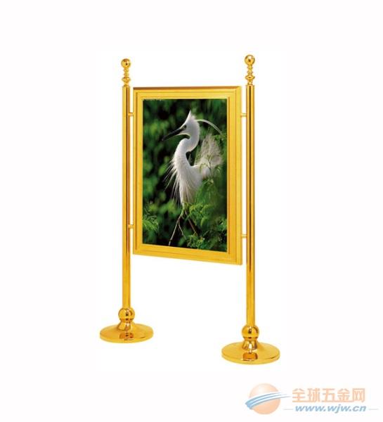 钢化玻璃不锈钢 钛金水牌指示牌 酒店指示牌 饭店指示牌