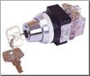 龙声钥匙开关YSK2-211D YSK2-222D YSK2-311D