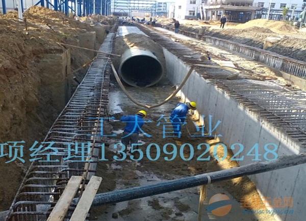 玻璃钢化工工艺管海水循环管道